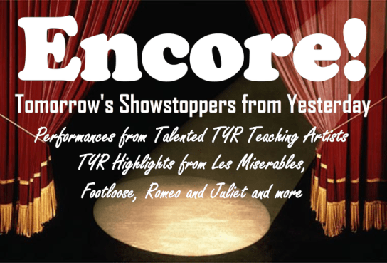 Encore! : Tomorrow's Showstoppers from Yesterday Logo