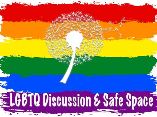 LGBTQ Safe Space Meetup Logo