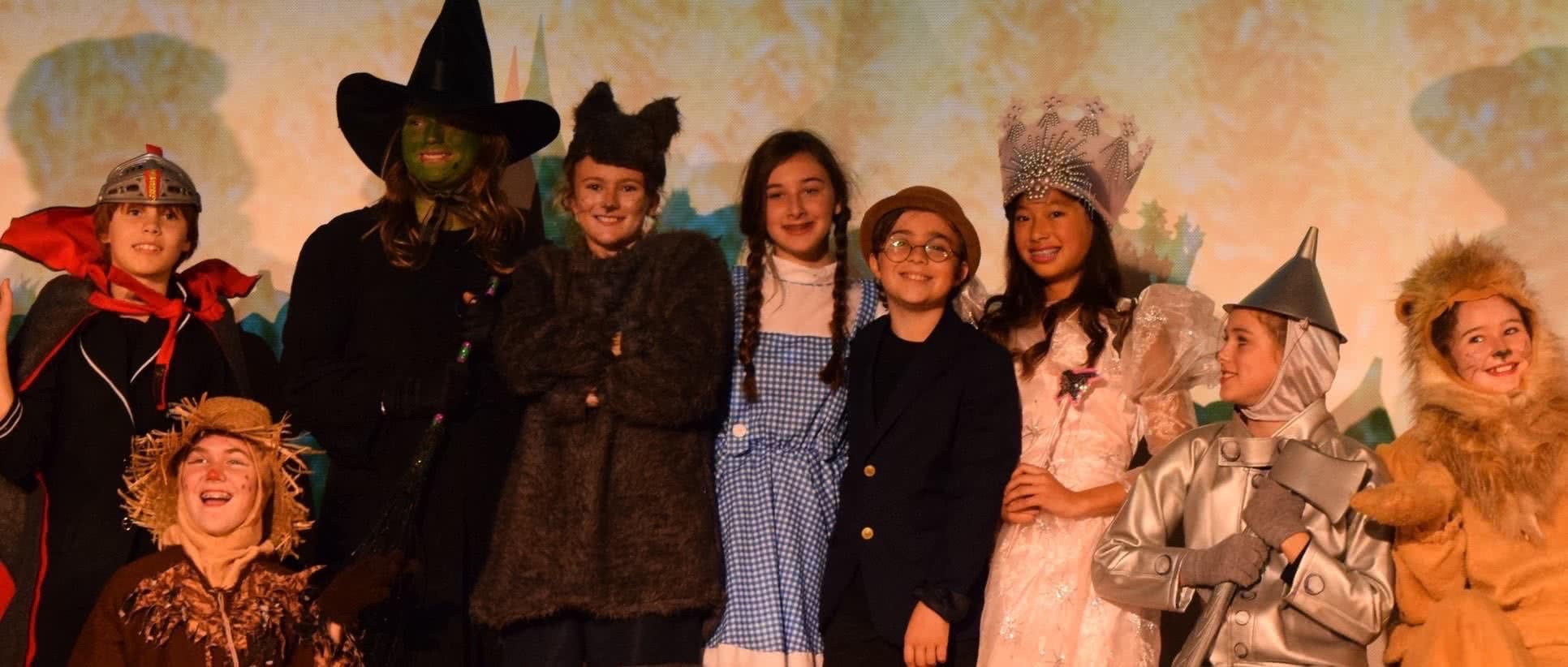 Tomorrow Youth Rep Banner image, from The Wizard of Oz, 2014