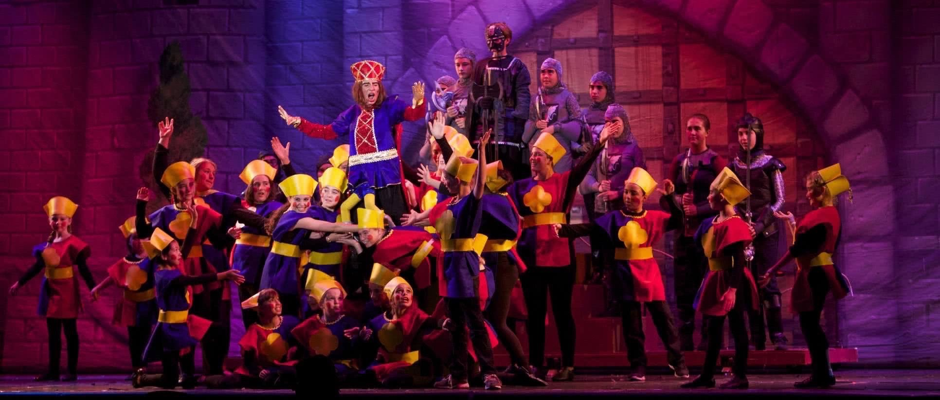 Tomorrow Youth Rep Banner image, from Shrek, 2014