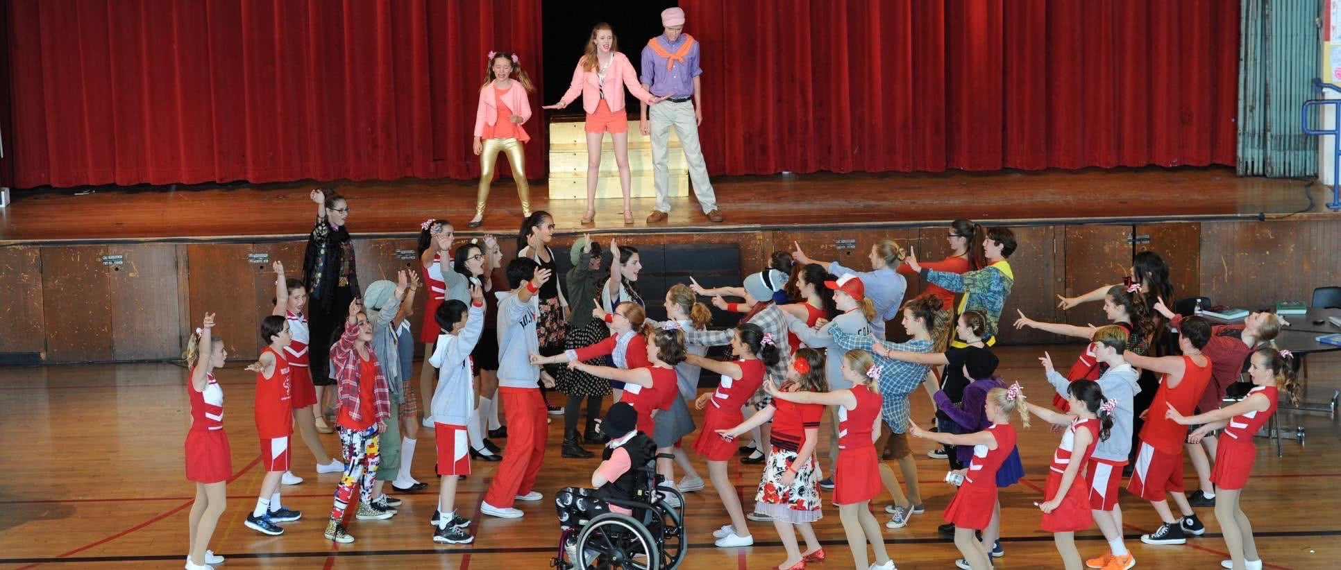 Tomorrow Youth Rep Banner image, from High School Musical, 2015