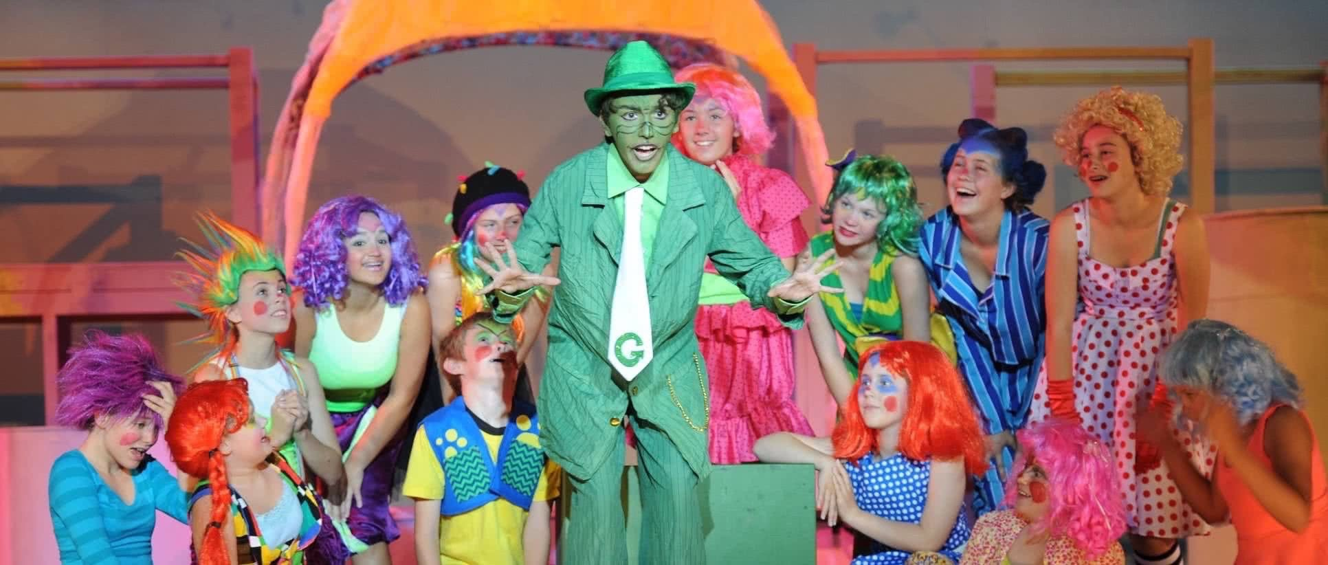 Tomorrow Youth Rep Banner image, from Seussical, 2015