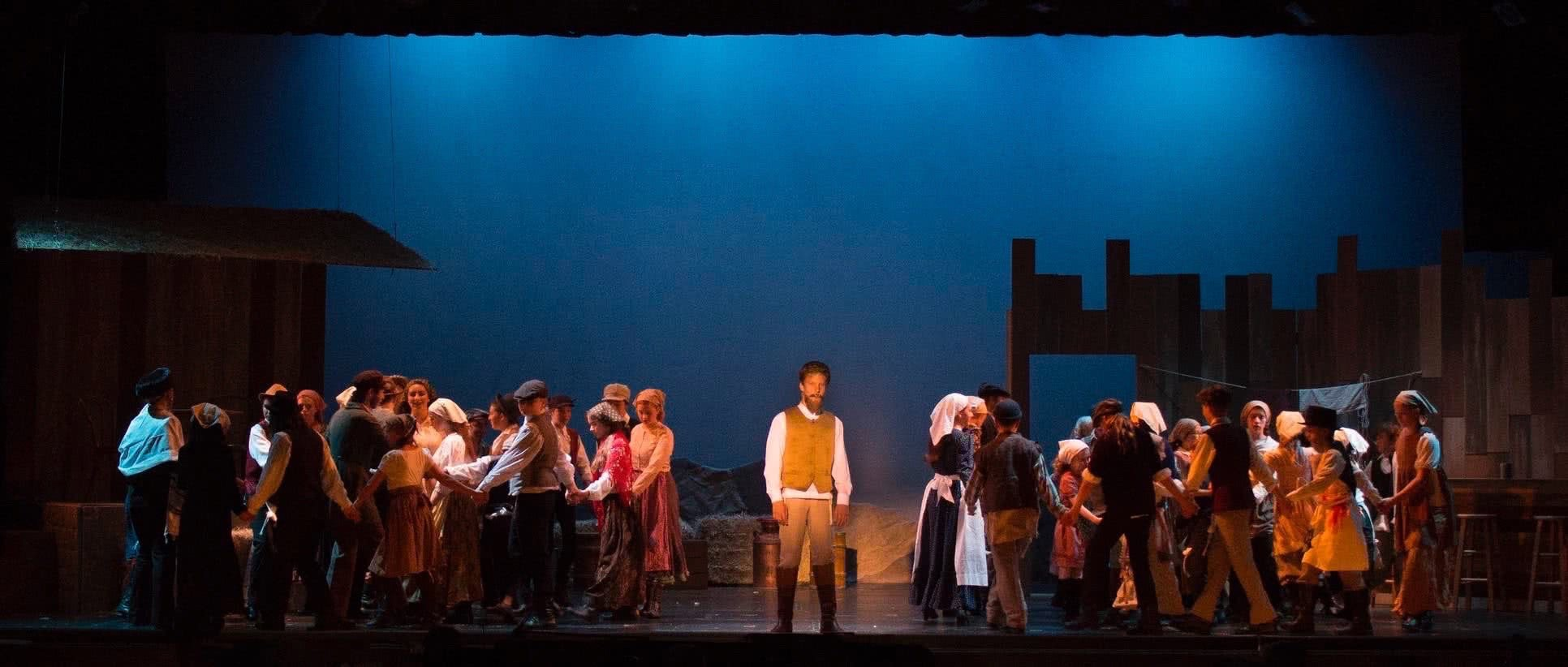 Tomorrow Youth Rep Banner image, from Fiddler on the Roof, 2016